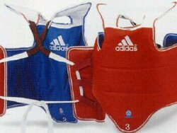 Adidas chest guard
